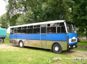 Unikalus MAZ autobusas