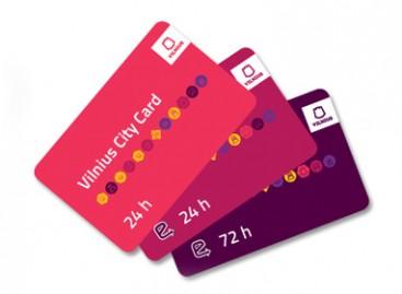 Atnaujinama Vilniaus miesto turisto kortelė