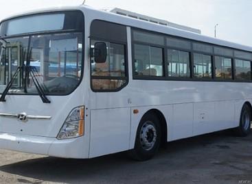 Turkmenistane bus nupirkta Pietų Korėjoje pagamintų autobusų