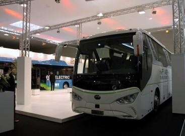 BYD stende Hanoveryje – elektrinis turistinis autobusas