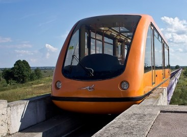 Ateities viešojo transporto konceptas – netoli Kijevo