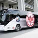 28.06.2013, Fussball, 1. BL, Neuer Mannschaftsbus Eintracht Frankfurt