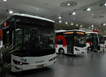 """""""Isuzu"""" autobusai Hanoverio parodoje"""