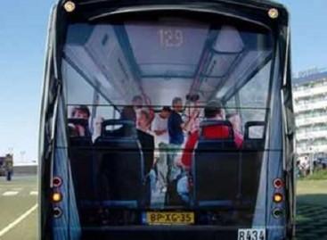 Originalūs piešiniai – ant autobusų