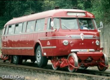 Autobusai, galintys važiuoti ir keliu, ir bėgiais