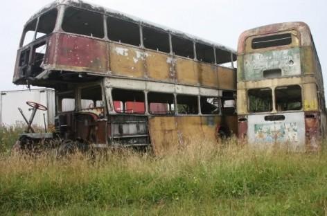 Dviaukščių Britanijos autobusų kapinės