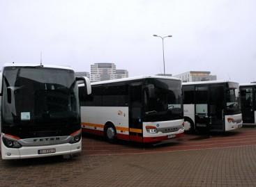 """Latviai įsigijo tūkstantąjį Turkijoje surinktą """"Setra"""" autobusą"""