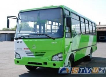 Uzbekiški autobusai naudos gamtines dujas
