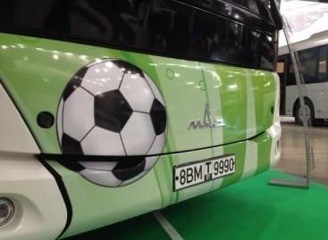MAZ sukūrė naują autobusą 2018-ųjų Pasaulio futbolo čempionatui
