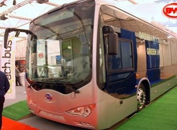 Kinišką elektrinį autobusą žada išbandyti žiemos sąlygomis