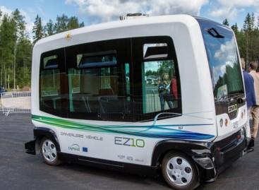 Taline pasirodys bepiločiai autobusai