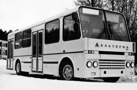 """Alterna"" – ""perestrojkos"" autobusas"