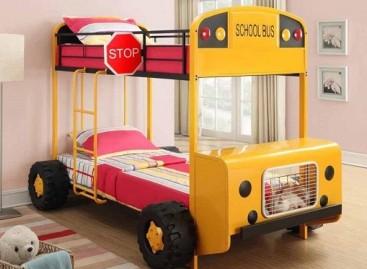 Autobusas – vaiko kambariui