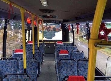 Mažeikiškiai šventiniu laikotarpiu Kalėdiniu autobusu vežami nemokamai