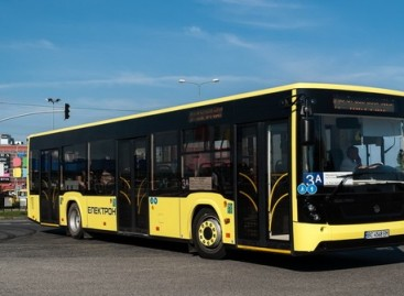 """Lvovui – 55 nauji """"Elektron"""" autobusai"""