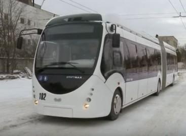 Ukrainos Rivnės mieste – baltarusiški troleibusai su autonomine eiga