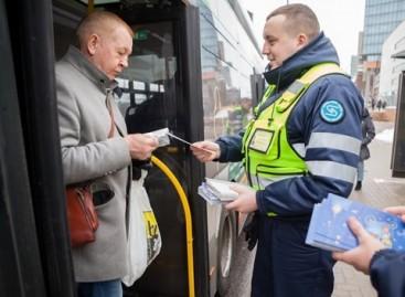 Vilniaus viešojo transporto keleiviams – kalėdinė staigmena