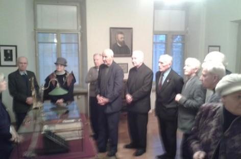 Veteranai lankėsi Signatarų namuose