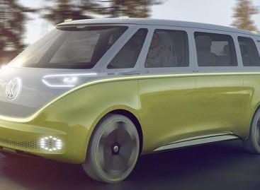 """""""Volkswagen"""" Detroite pristatė elektrinį mikroautobusą"""