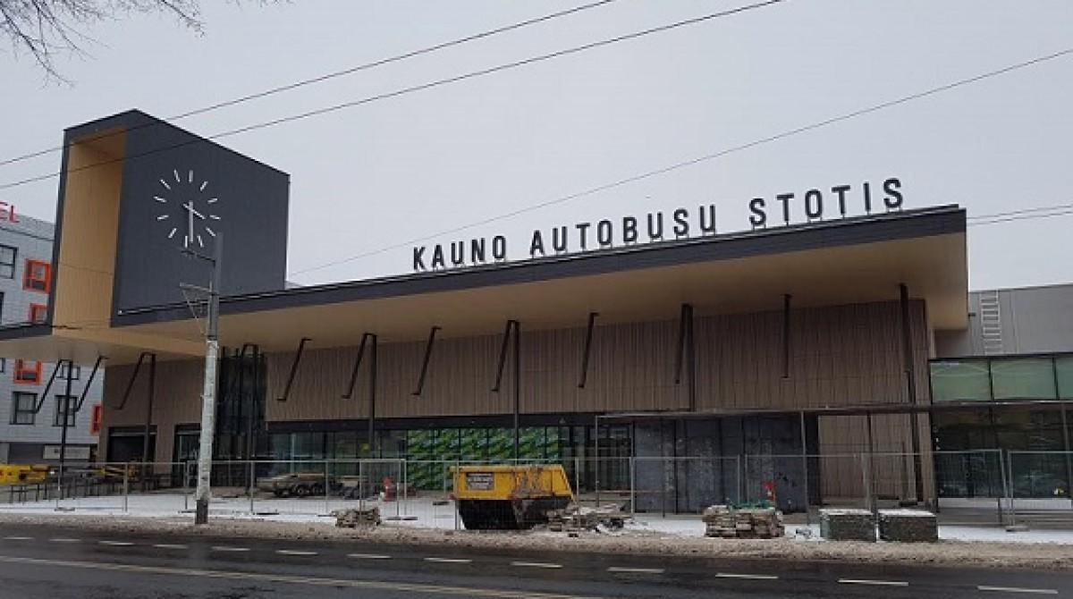 Nuo rytdienos Kauno autobusų stotis – senojoje vietoje