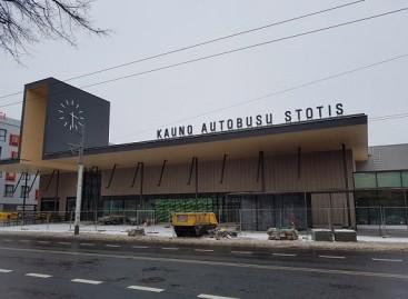 Paaiškėjo, kada duris atvers atnaujinta Kauno autobusų stotis