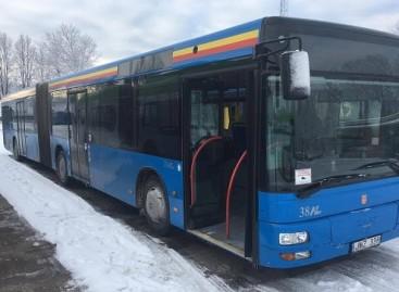 Klaipėdoje – daugiau naujesnių autobusų