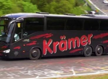 Autobusai ir mikroautobusai – Niurburgringe (video)