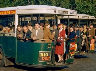 Senieji Paryžiaus autobusai