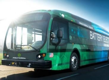 """""""Proterra"""" JAV gamins dvigubai daugiau elektrinių autobusų"""