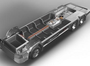"""""""Scania"""" pristatė itin lengvą važiuoklę autobusams ir sunkvežimiams"""