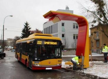 """Varšuvos vežėjai įsigis 130 elektrinių """"Solaris Urbino 18"""""""