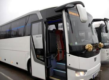 Jonaviškiams – Lietuvoje dar nematytas autobusas