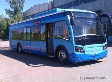 """Rusijoje pristatytas suspaustas gamtines dujas naudojantis """"Vichr"""" autobusas"""