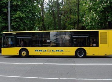 Kijeve – penkios dešimtys naujų autobusų