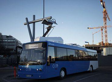 Helsinkio gatvėse – pirmasis elektrinis autobusas