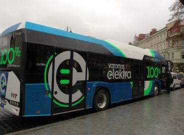 """Elektrinis """"Solaris Urbino 12 Electric"""" pristatomas Tauragėje"""
