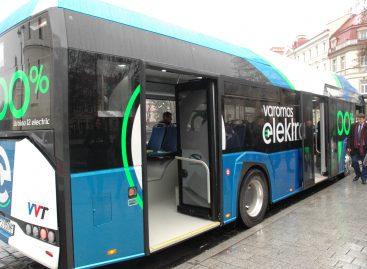 """Šiandien """"Solaris Urbino 12 Electric"""" bus pristatytas kauniečiams"""
