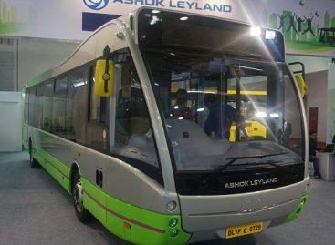 """""""Ashok Leyland"""" surinkinės elektrinius """"Optare VERSA"""" autobusus"""