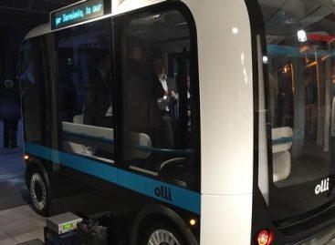 Autonominis elektrinis autobusas išbandomas ir Berlyne