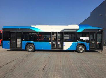 """Vilniečiai turės progos susipažinti su elektriniu """"Solaris Urbino"""""""