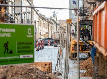 Prasideda II-asis Vilniaus gatvės rekonstrukcijos etapas