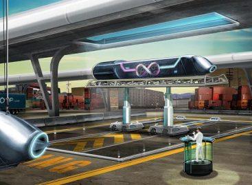 """Nufilmuota, kaip atrodo kelionė """"Hyperloop"""" iš transporto priemonės vidaus"""