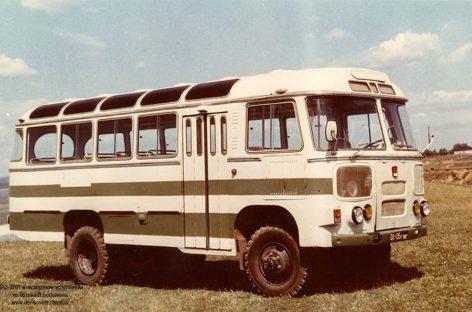 Padidinto pravažumo PAZ autobusai