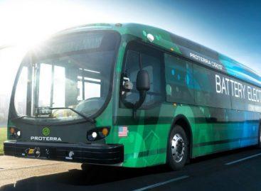 """""""Proterra"""" plečia elektrinių autobusų gamybą"""