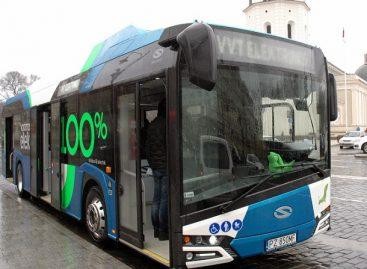 """Paaiškėjo, kokiu maršrutu sostinėje važinės elektrinis """"Solaris Urbino"""""""