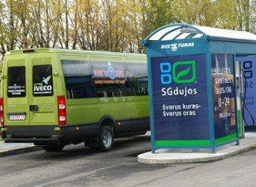 Lietuva skatins alternatyviųjų degalų naudojimą transporto sektoriuje