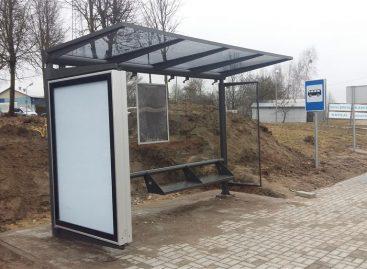 Alytuje atnaujinami ir įrengiami viešojo transporto laukimo paviljonai