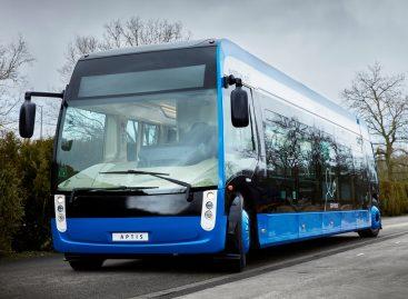 """""""Aptis"""" – manevringiausias elektrinis autobusas"""