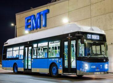 """""""Scania"""" pristatys 160 dujinių autobusų Madrido vežėjams"""