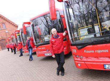 Lietuvos keliuose – dar daugiau naujų, neįgaliesiems pritaikytų autobusų
